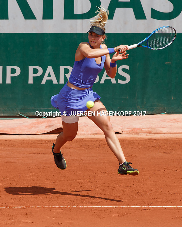 CARINA WITTHOEFT (GER)<br /> <br /> Tennis - French Open 2017 - Grand Slam / ATP / WTA / ITF -  Roland Garros - Paris -  - France  - 4 June 2017.