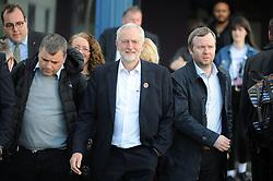 Jeremy Corbyn, Dunfermline, 24-04-2017<br /> <br /> Jeremy Corbyn MP visited Dunfermline Conference Centre<br /> <br /> (c) David Wardle   Edinburgh Elite media