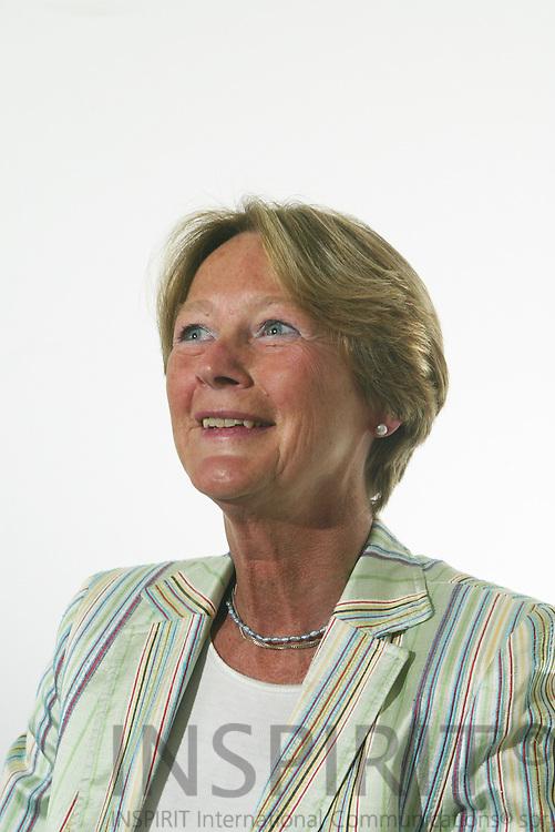 BRUSSELS - BELGIUM - 22 MAY 2006 -- Ingrid HJELT af TROLLE, Ambassador, Deputy Permanent Representative of the Permanent Representation of Sweden to the EU. PHOTO: ERIK LUNTANG /
