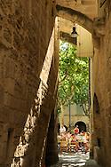 France, Languedoc Roussillon, Gard, Uzège, Uzès, la place aux herbes