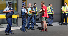 Rotorua-Police called to Pak-n- Save protest