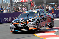 James Courtney in the Mobil 1 Boost Mobile Racing Holden Commodore during Friday practice at The 2018 Vodafone Supercar Gold Coast 600 in Queensland.