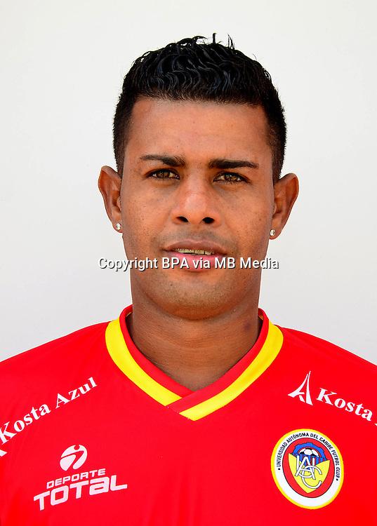 Colombia League - Postobom Liga 2014-2015 -<br /> UniAutonoma Futbol Club  - Colombia / <br /> Daniel Machacon