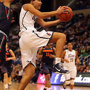 Bria Hartley, Connecticut, in action during the Connecticut V Syracuse Semi Final match during the Big East Conference, 2013 Women's Basketball Championships at the XL Center, Hartford, Connecticut, USA. 11th March. Photo Tim Clayton