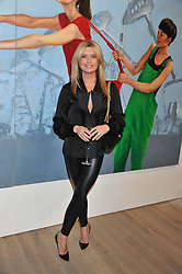 TINA HOBLEY at a private view of Fly to Baku - Contemporary Art from Azerbaijan held at Phillips de Pury, Howick Place, London SW1 on 17th January 2012.