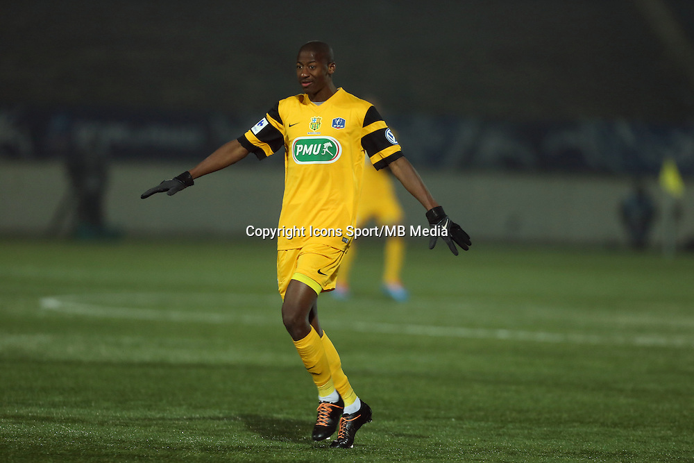 Nama FOFANA- 23.01.2015 - Red Star / Marseille Consolat - Coupe de France<br /> Photo : Sebastien Muylaert / Icon Sport