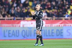 February 4, 2018 - Monaco, France - 09 Mariano DIAZ (ol) - JOIE (Credit Image: © Panoramic via ZUMA Press)