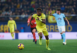 December 8, 2018 - Villarreal, Castellon, Spain - Samu Chukwueze of Villarreal CF during the La Liga match between Villarreal CF and Real Club Celta de Vigo at La Ceramica Stadium on December 8, 2018 in Vila-real, Spain  (Credit Image: © Maria Jose Segovia/NurPhoto via ZUMA Press)