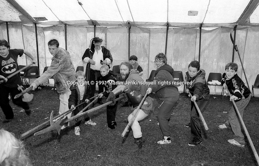 1991 Yorkshire Miners Gala. Doncaster.