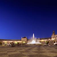 Plaza de EspaŇa, Seville, Spain