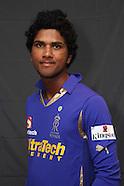 IPL S5 Rajasthan Royals Headshots