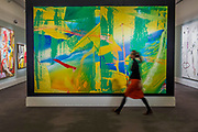 GERHARD RICHTER, GELBGRÜN (YELLOW-GREEN), Estimate £7,000,000-10,000,000 - Highlights From London's Flagship Sales of Impressionist, Modern, Surrealist & Contemporary Art at Sotheby's London.