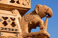 jain temple of amar sagar near jaisalmer in rajasthan state in indi