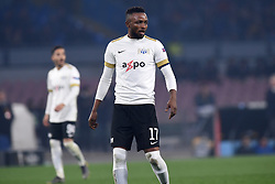 February 21, 2019 - Naples, Naples, Italy - Umaru Bangura of FC Zurich during the UEFA Europa League Round of 32 Second Leg match between SSC Napoli and FC Zurich at Stadio San Paolo Naples Italy on 21 February 2019. (Credit Image: © Franco Romano/NurPhoto via ZUMA Press)