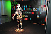 Israel, Haifa, MadaTech The Israel national Museum of Science The Robotic World exhibition. Humanoid