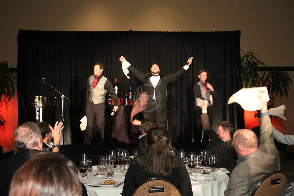 2011 Taste of Tulalip Celebration Dinner Three Waiters performance.