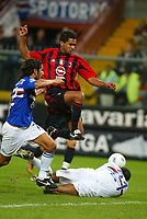 Genova 30-10-2004<br /> <br /> Campionato  Serie A Tim 2004-2005<br /> <br /> Sampdoria Milan<br /> <br /> nella  foto Serginho Milan<br /> <br /> Foto Snapshot / Graffiti