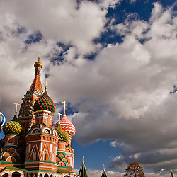 Saint Basil´s Cathedral, Moscow, Russia