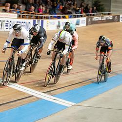 28-12-2019: Wielrennen: NK Baan: Alkmaar<br />Europees Kampioen keirin Mathijs Buchli, Harry Lavreysen
