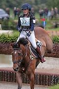 THATS IT II ridden by Jasmin Gambirasio (Switzerland) at Bramham International Horse Trials 2016 at  at Bramham Park, Bramham, United Kingdom on 11 June 2016. Photo by Mark P Doherty.