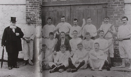 Cork (Blackrock)- All-Ireland Hurling Champions 1893. Back Row: D O'Keeffe, P Coughlan, J Norberg, D Coughlan, P Donovan, J Murphy, M Murphy, J Kidney, D Scannell. Middle Row: J Kelleher, P Walsh, J Nagle (pres), J Young, J O'Leary, W O'Connell. Front Row: P Flaherty, J J O'Leary, D Hayes, J Delea.