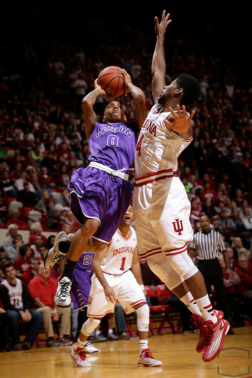 Grand Canyon guard DeWayne Russell as Grand Canyon played Indiana in an NCAA college basketball game in Bloomington, Ind., Saturday, Dec. 13, 2014. (AJ Mast/Photo)