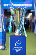 The Heineken Champions Cup before the quarter-final match between Edinburgh Rugby and Munster Rugby at BT Murrayfield Stadium, Edinburgh, Scotland on 30 March 2019.