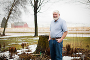 REEDSBURG, WI – JANUARY 20: John Dietz poses for a portrait at his home outside Reedsburg on January 20, 2017.