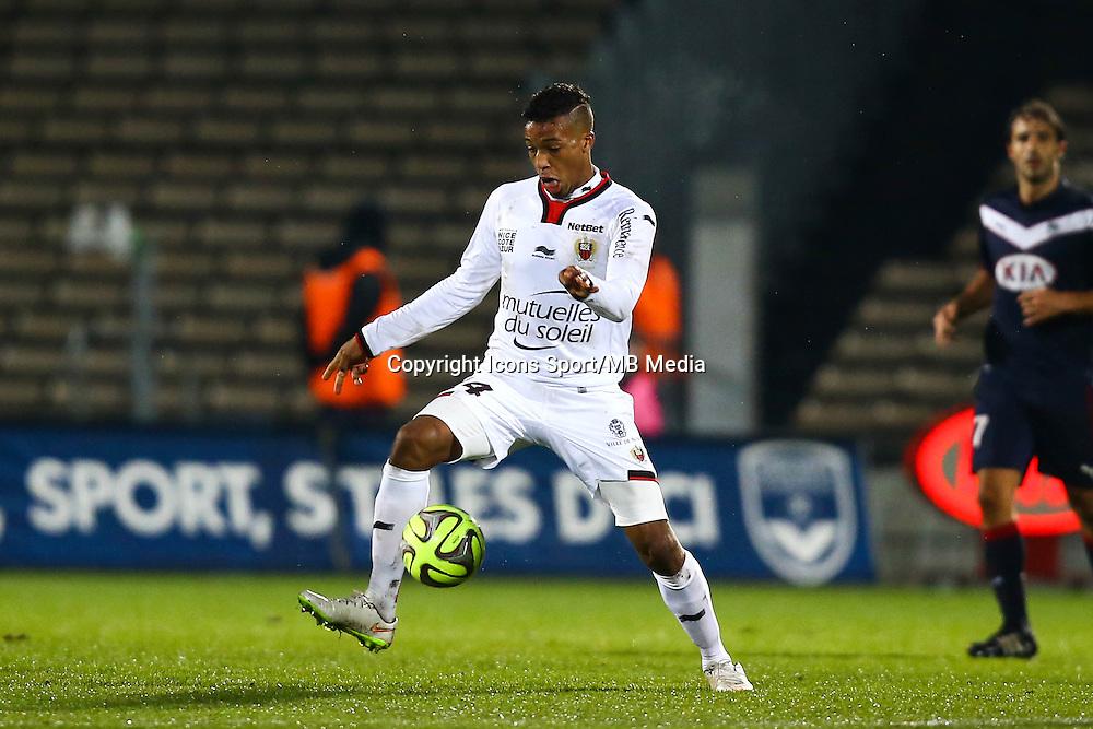 Alassane Plea - 16.01.2015 - Bordeaux / Nice - 21e journee Ligue 1<br />Photo : Manuel Blondeau / Icon Sport