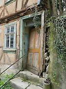 verfallenes Haus, Ruine, Altstadt, Treffurt, Werra, Thüringen, Deutschland | derelict house , ruin, old town of Treffurt, Thuringia, Germany