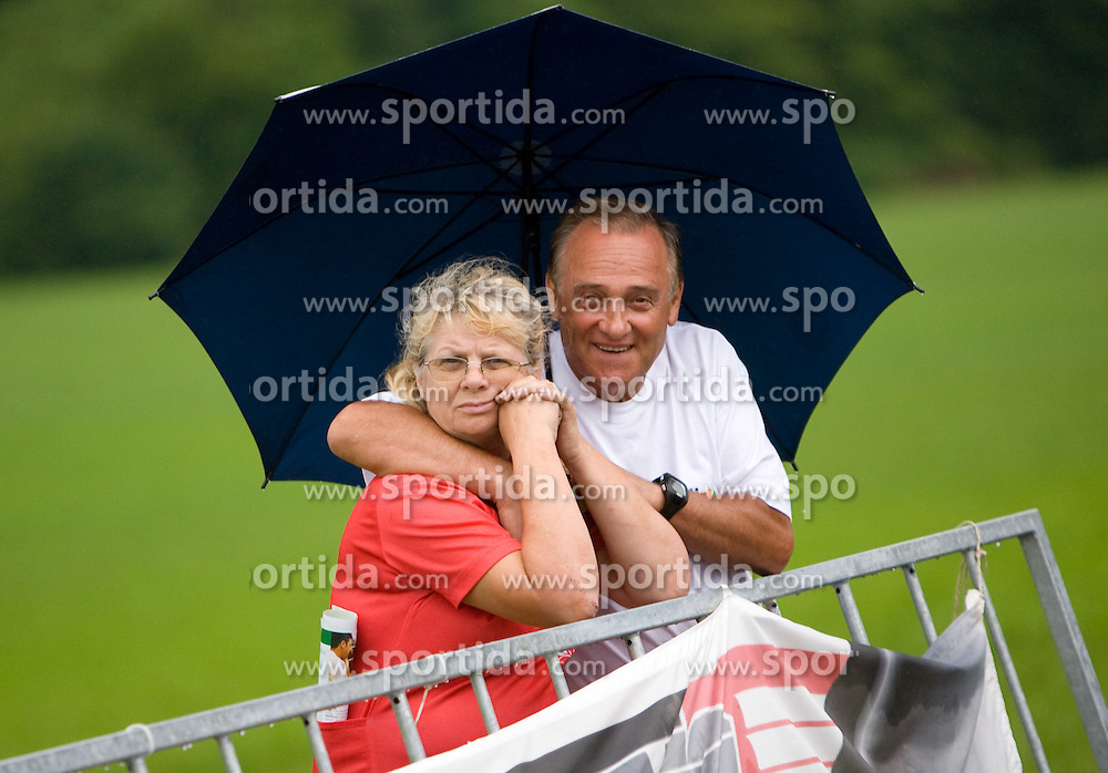 Old couple at Slovenian National Championships in Road cycling, 178 km, on June 28 2009, in Mirna Pec, Slovenia. (Photo by Vid Ponikvar / Sportida)