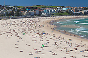 A beautiful autumn day at Bondi Beach, Sydney, Australia.
