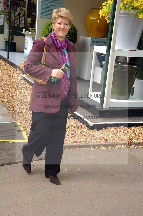 CLARE BALDING at the 2008 Chelsea Flower Show 19th May 2008.<br />