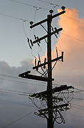 Electricity pylon, Queensland, Australia