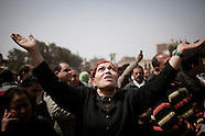 2012 - Egyptian Copts grieve for Pope Shenouda III