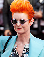 Designer Sandy Powell How To Talk To Girls At Parties gala screening at the 70th Cannes Film Festival Sunday 21st May 2017, Cannes, France. Photo credit: Doreen Kennedy
