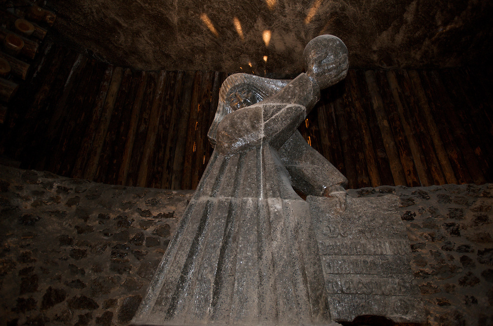 Wieliczka Salt Mine, Poland This chamber was named after Nicolaus Copernicus, who was one of the first tourists to visit Wieliczka Mine.