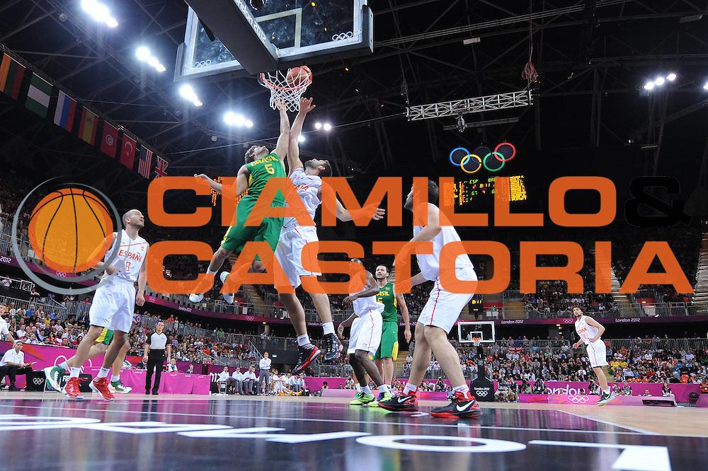 DESCRIZIONE : London Londra Olympic Games Olimpiadi 2012 Men Preliminary Round Spagna Brasile Spain Brazil<br /> GIOCATORE : Felipe Reyes<br /> CATEGORIA :<br /> SQUADRA : Spagna Spain<br /> EVENTO : Olympic Games Olimpiadi 2012<br /> GARA : Spagna Brasile Spain Brazil<br /> DATA : 06/08/2012<br /> SPORT : Pallacanestro <br /> AUTORE : Agenzia Ciamillo-Castoria/M.Marchi<br /> Galleria : London Londra Olympic Games Olimpiadi 2012 <br /> Fotonotizia : London Londra Olympic Games Olimpiadi 2012 Men Preliminary Round Spagna Brasile Spain Brazil<br /> Predefinita :