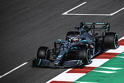 March 1, 2019 - Barcelona, Catalonia, Spain - LEWIS HAMILTON (GBR) from team Mercedes drives in his W10 during day eight of the Formula One winter testing at Circuit de Catalunya (Credit Image: © Matthias OesterleZUMA Wire)