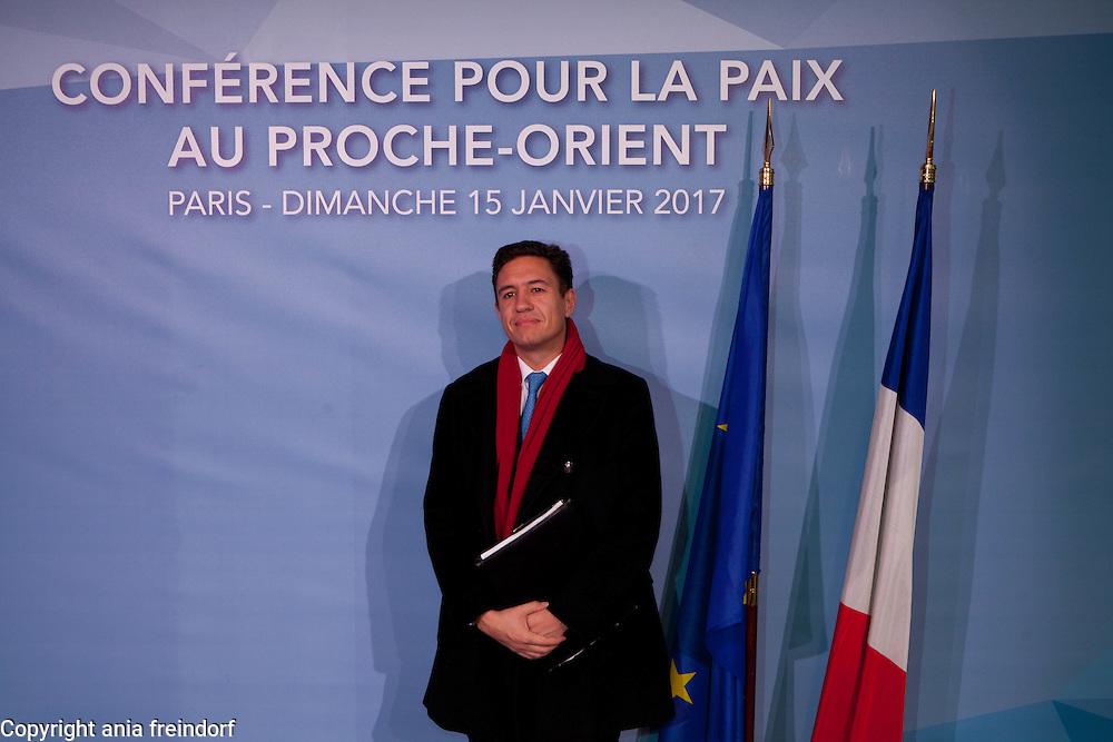 Middle East Peace Conference, Paris, France. International summit. 7O countries have participated in the summit. Bulgaria, Anguel Tcholakov, Bulgaria ambassador to France