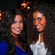 NLD/Amsterdam/20121126 - Bekendmaking FHM 500 Mooiste Meisjes 2012, Laura Ponticorvo en Laurette Gerards