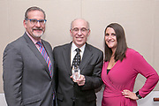 2019 Transactions Liability Leadership Award Ceremony for Peter Rosen Mediator and Arbitrator for JAMS at Advisen's Transaction Insurance Insights Conference at New York Law School.