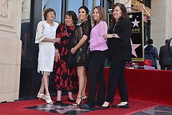 Ella Eva Mireles, Esmeralda Josephina Longoria, Elizabeth Judina Longoria and Emily Jeannette Longoria attend the ceremony honoring Eva Longoria with a star on the Hollywood Walk of Fame on April 17, 2018 in Los Angeles, California. Photo by Lionel Hahn/ABACAPRESS.COM