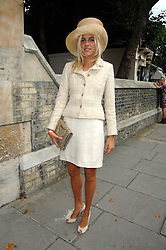 LADY LOUISA COMPTON at the wedding of Chloe Delevingne to Louis Buckworth at St.Paul's Knightsbridge, London on 7th September 2007.<br />