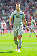Tom Naylor (#4) of Portsmouth FC during the EFL Sky Bet League 1 match between Sunderland and Portsmouth at the Stadium Of Light, Sunderland, England on 17 August 2019.