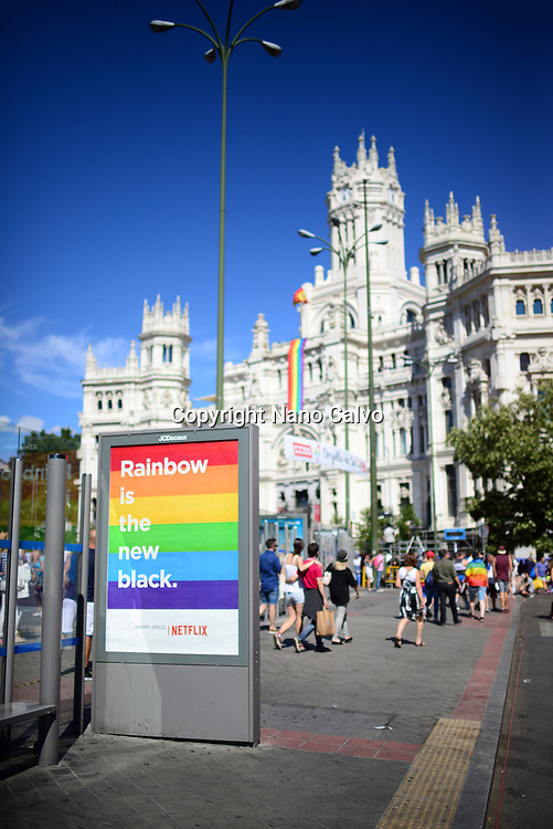 """Whoever you love, Madrid loves you"" is the slogan of this year´s edition of WorldPride, the most important worldwide event for the LGBT Community. This major festival coincides with the 40th anniversary of the first LGBT Pride protest in Spain."
