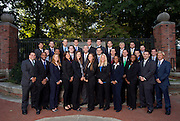 Masters of Sports Administration group photos. Photo by Lauren Pond