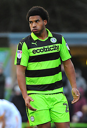 New signing Forest Green Rovers Reuben Reid - 06/01/2018 - FOOTBALL - New Lawn Stadium- Nailsworth, England- Forest Green Rovers v Port Vale - Sky Bet League Two