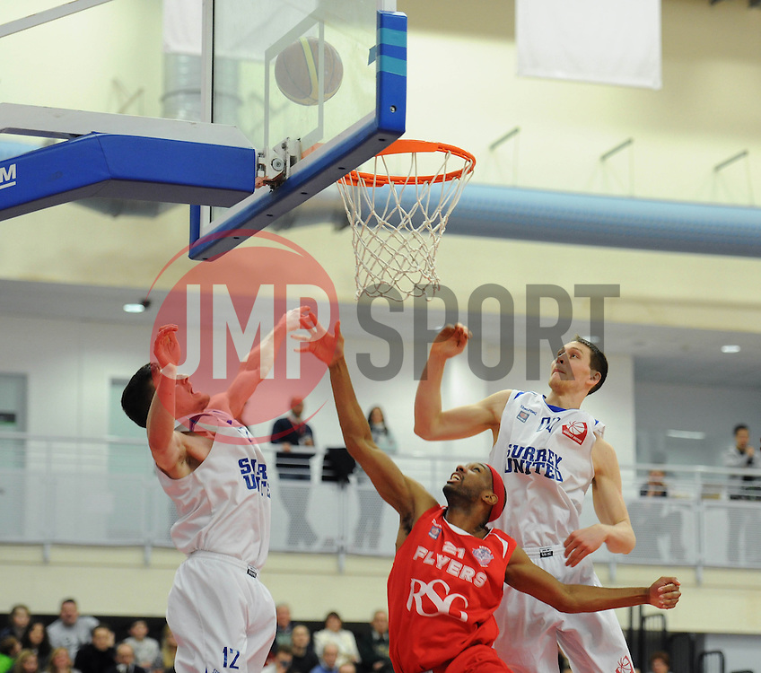 Bristol Flyers' Siman Stewart - Photo mandatory by-line: Dougie Allward/JMP - Mobile: 07966 386802 - 13/02/2015 - SPORT - Basketball - Bristol - SGS Wise Campus - Bristol Flyers v Surrey United - British Basketball League