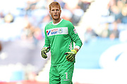 Wigan Athletic goalkeeper Adam Bogdan (1) during the EFL Sky Bet Championship match between Wigan Athletic and Brighton and Hove Albion at the DW Stadium, Wigan, England on 22 October 2016.
